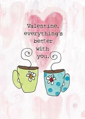 VAFH048  Valentine's Day Card