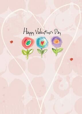 VAFH200  Valentine's Day Card