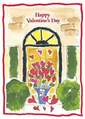 VAFH123  Valentine's Day Card