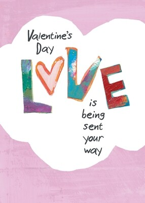 VAFH255  Valentine's Day Card