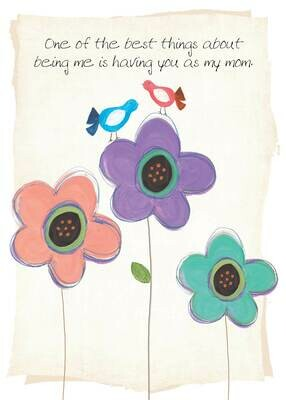 MAFH047  Mother's Day Card