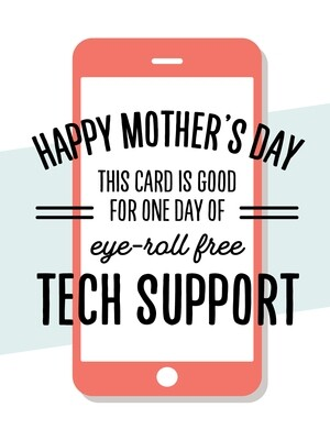 IKI858 Mother's Day Card