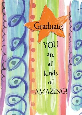 GAFH141  Graduation Card