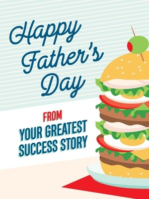 IKI863 Father's Day Card