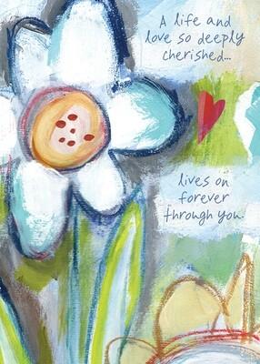 AFH347  Sympathy Card