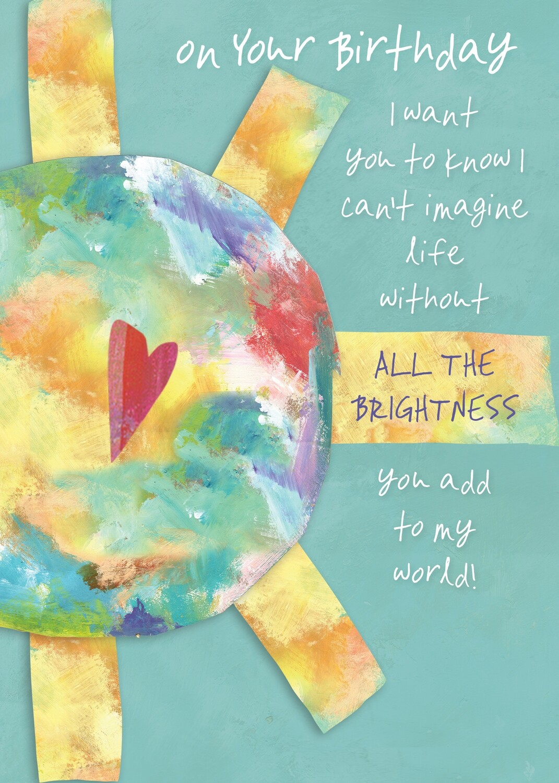 AFH343   Birthday Card