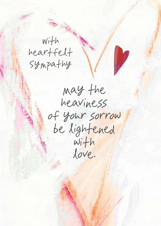 AFH348  Sympathy Card