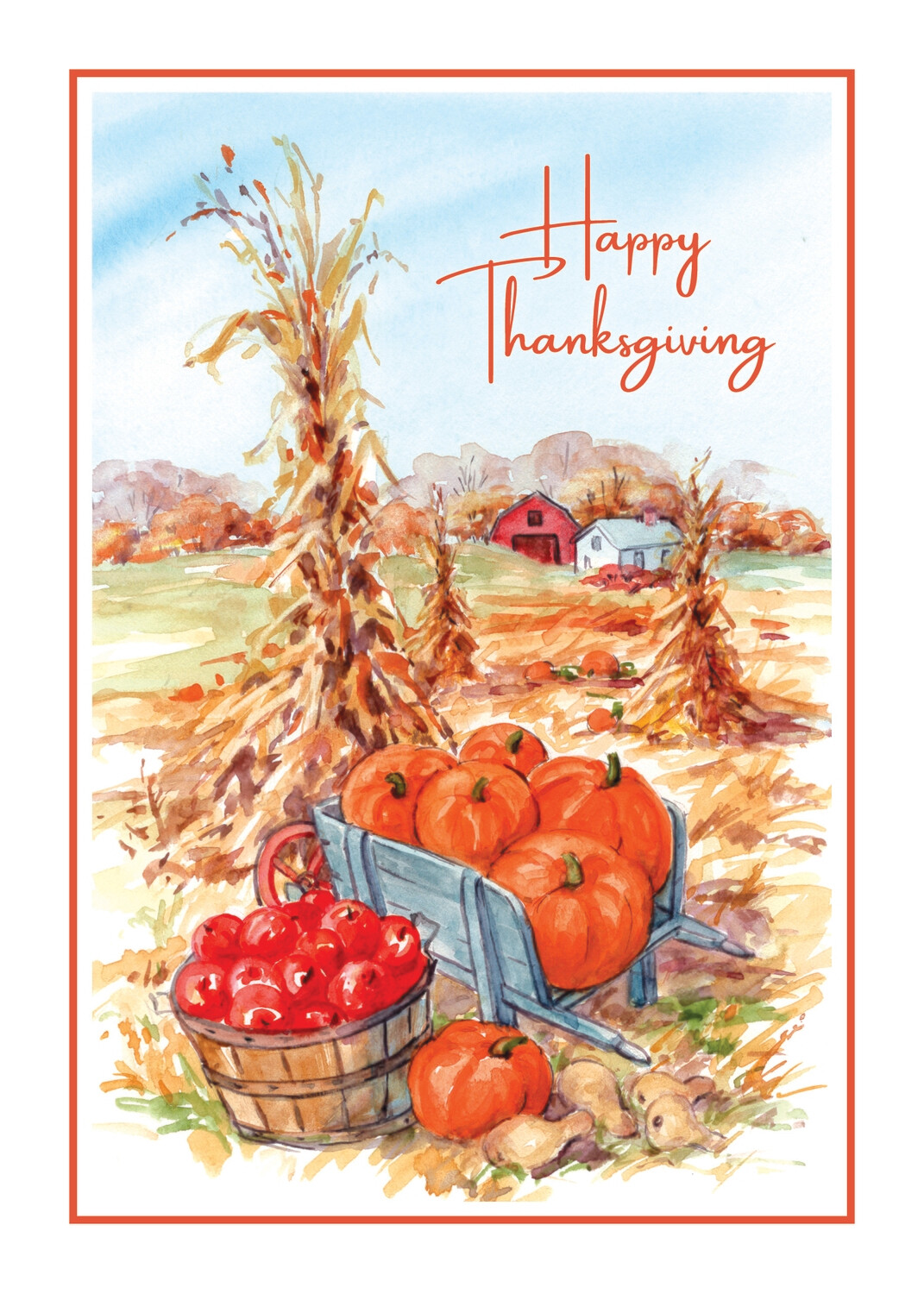 FRS 626 / 7974 Thanksgiving Card