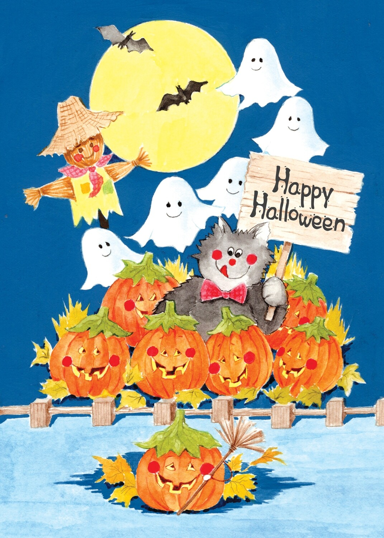 FRS 621 / 7772   Halloween Card