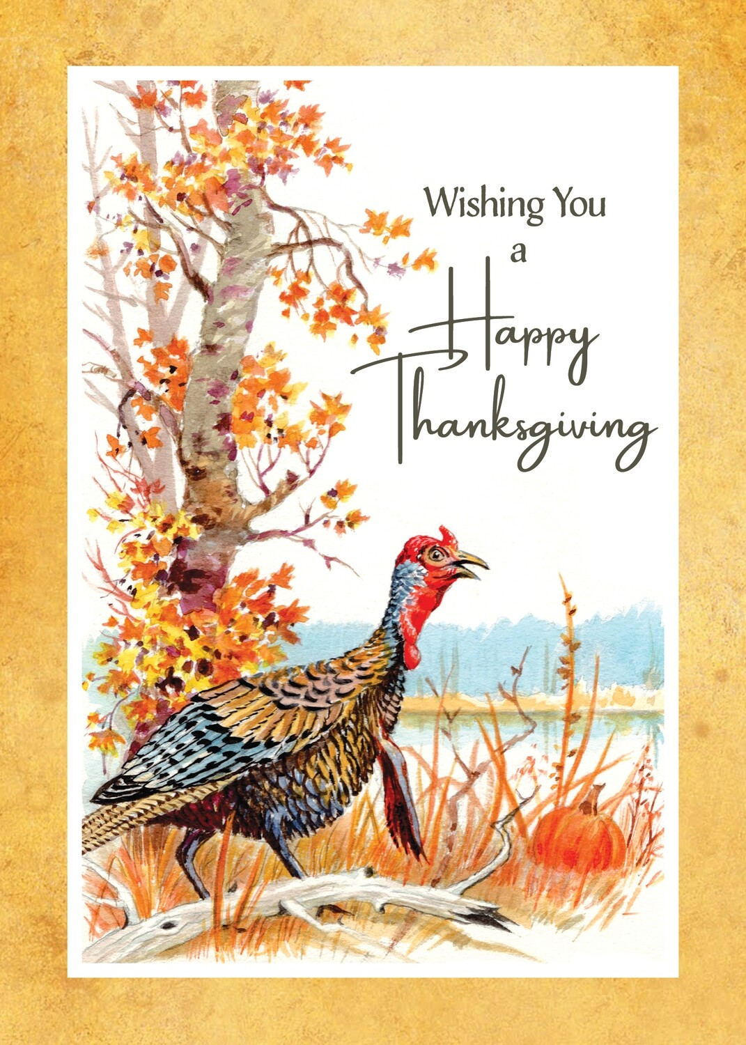 FRS 629 / 7977 Thanksgiving Card