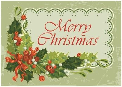 FRS 618 / 6147 Christmas Card