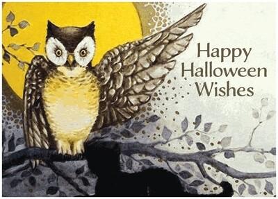 FRS 623 / 7774   Halloween Card