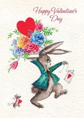 FRS3348   Valentine's Day Card