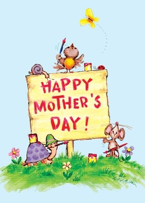 FRS6404   Mother's Day Card
