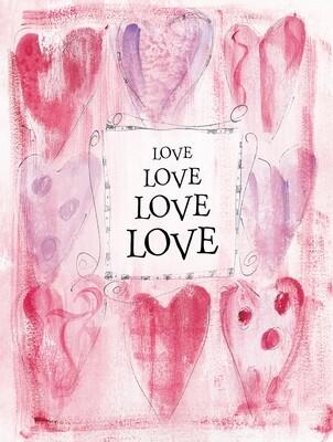 VAFH158oversize   Valentine's Day Card
