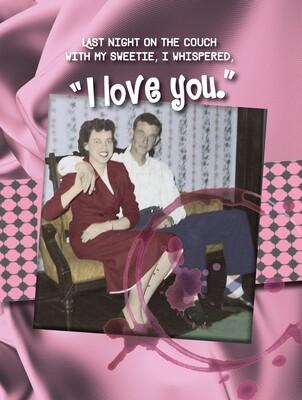 VAP1390oversize   Valentine's Day Card