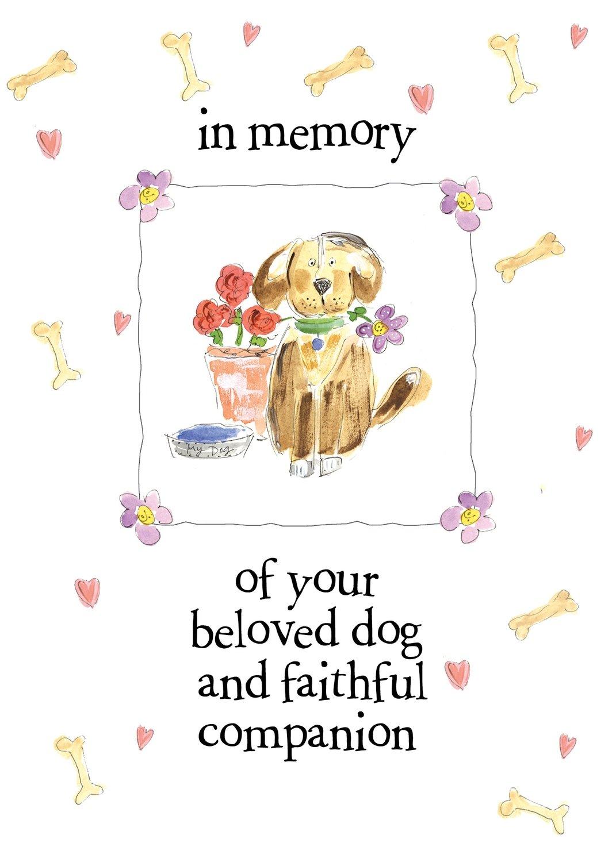 AFH181  Pet Sympathy Card