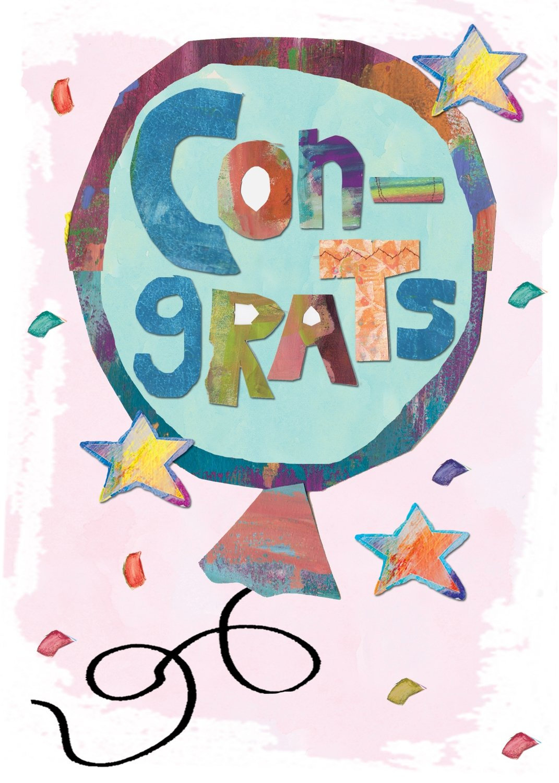 AFH081   Congratulations Card