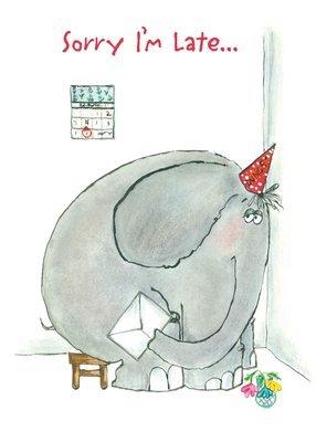 FR8333   Belated Birthday Card