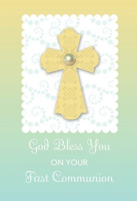 FR7000  Religious Event Card / Communion