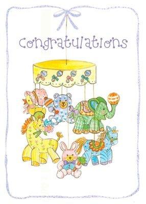 FR1520   Congratulations Baby Card