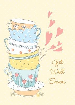 FR9305  Get Well Card