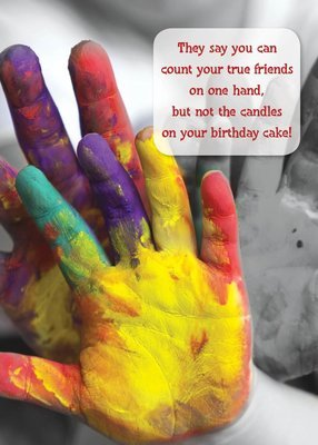 PS01172 Birthday Card