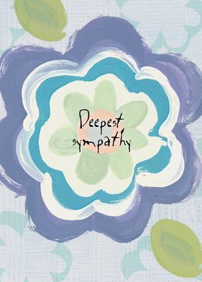 AFH232  Sympathy Card