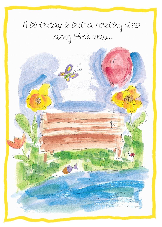 AFH005  Birthday Card