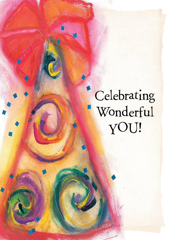 AFH018  Birthday Card