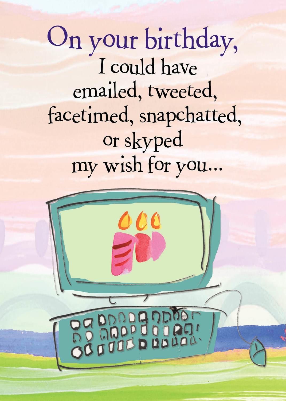 AFH125   Birthday Card
