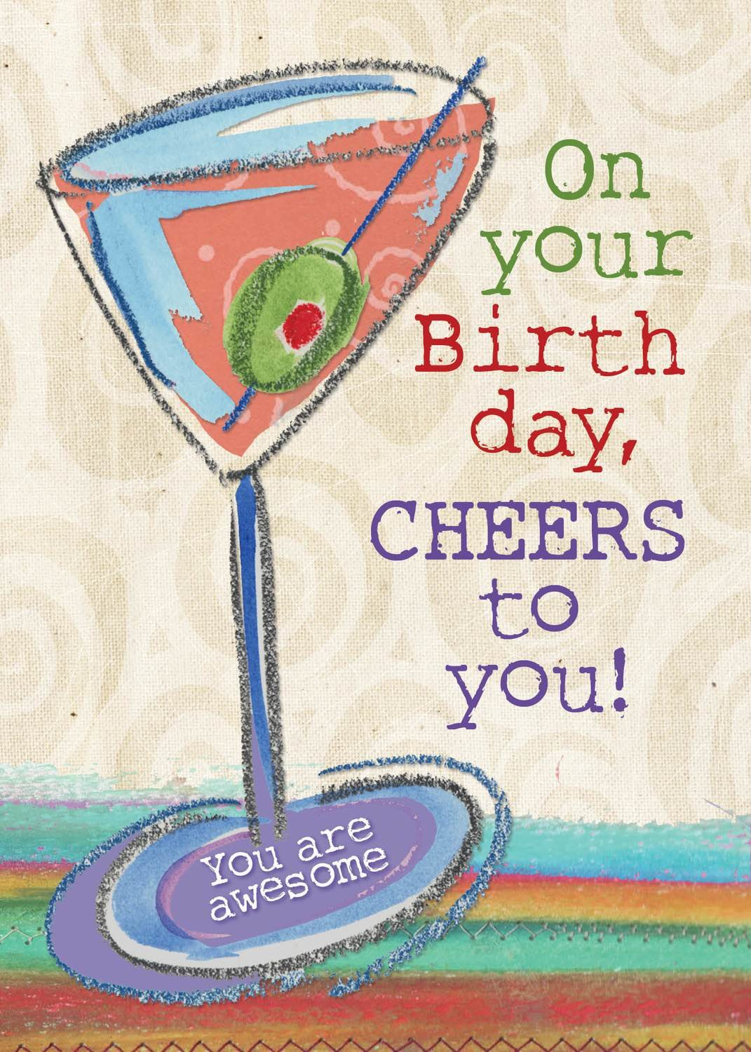 AFH126   Birthday Card