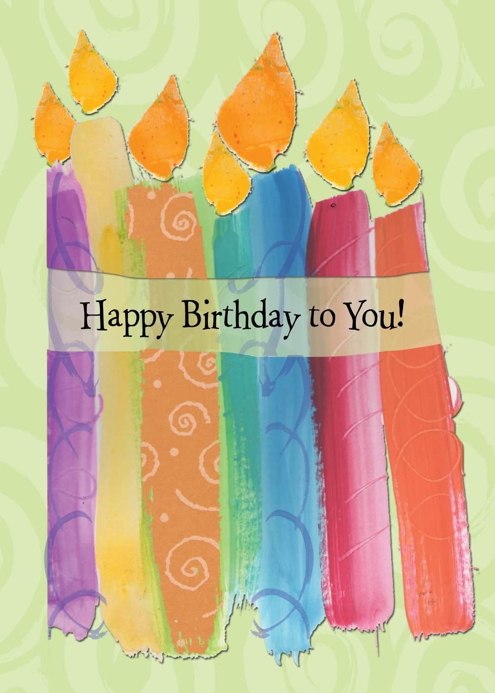 AFH129   Birthday Card