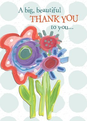 AFH153   Thank You Card