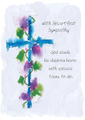 AFH102  Sympathy Card