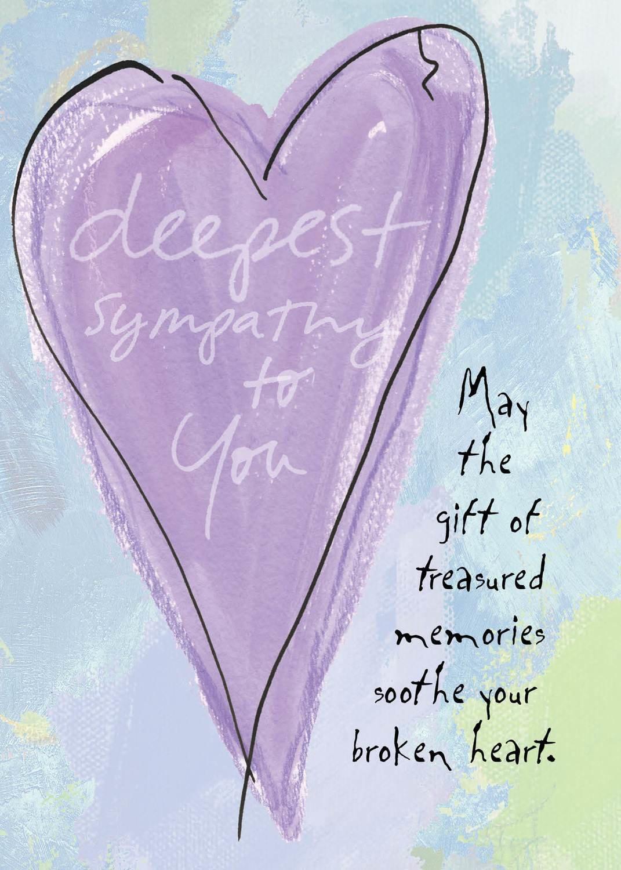 AFH138  Sympathy Card