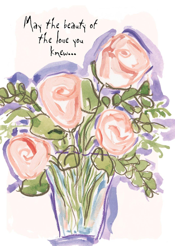 AFH154  Sympathy Card