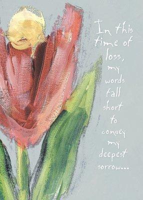 AFH176  Sympathy Card