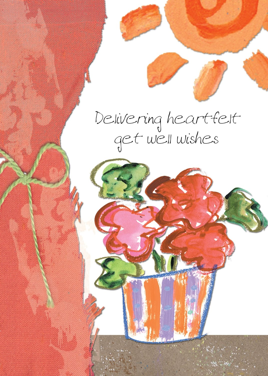AFH105  Get Well Card