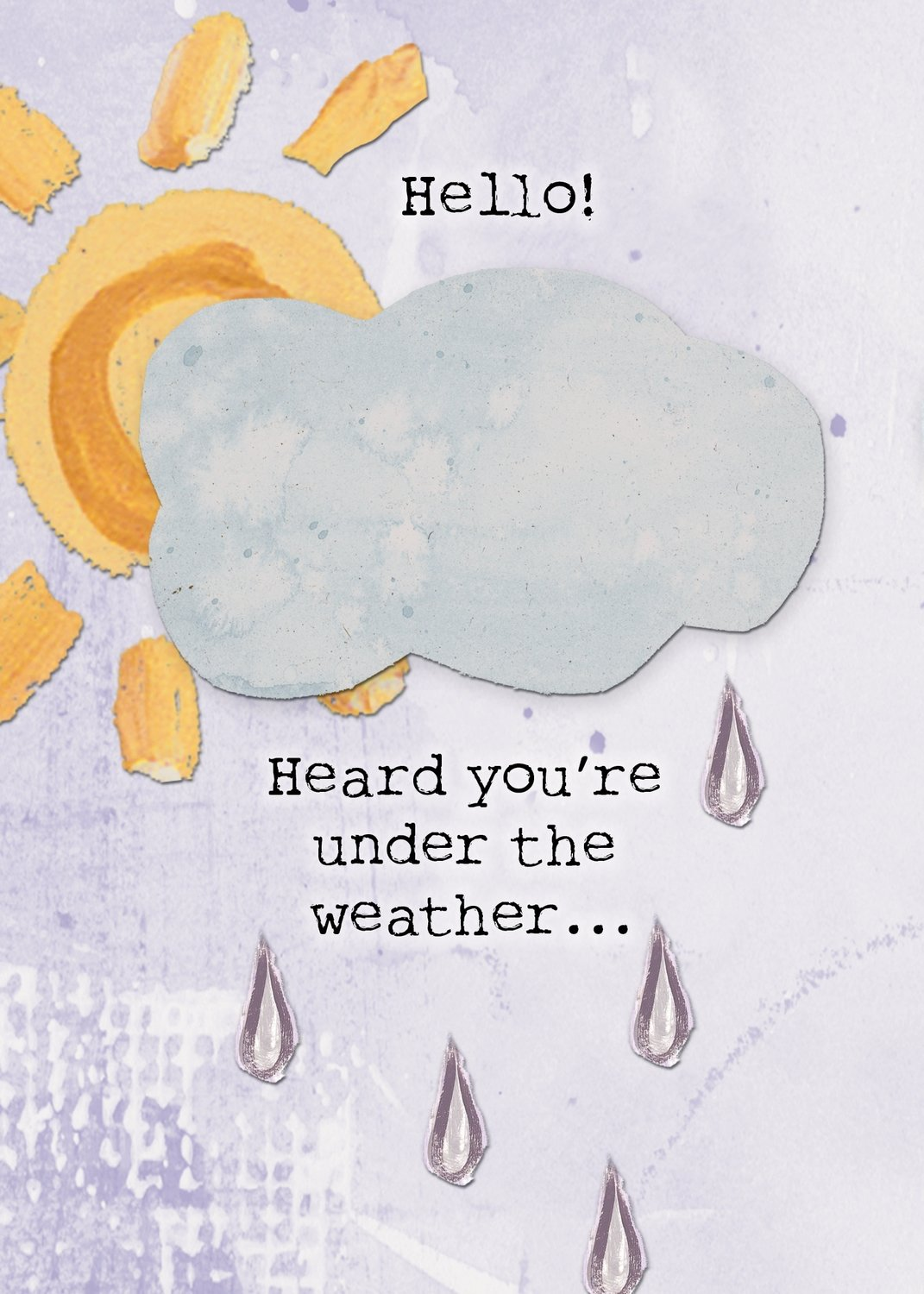 AFH187  Get Well Card