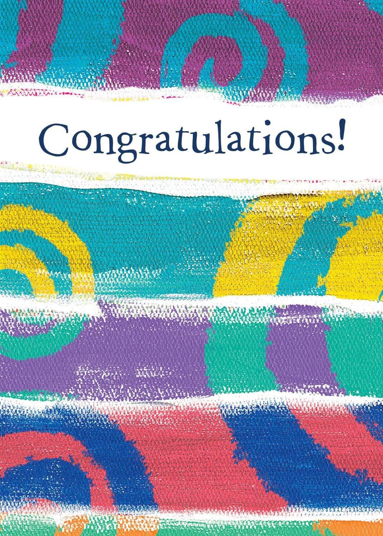 AFH201   Congratulations Card