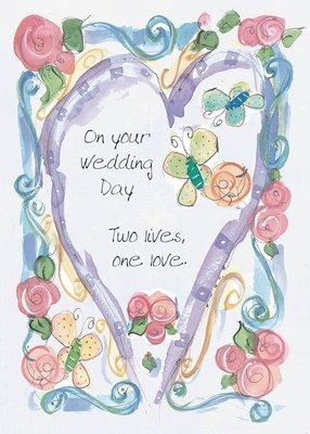 AFH145   Wedding Card