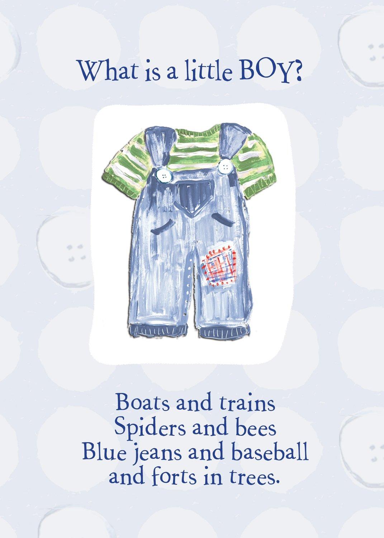 AFH182   Baby Boy Card