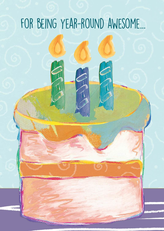 AFH240   Birthday Card