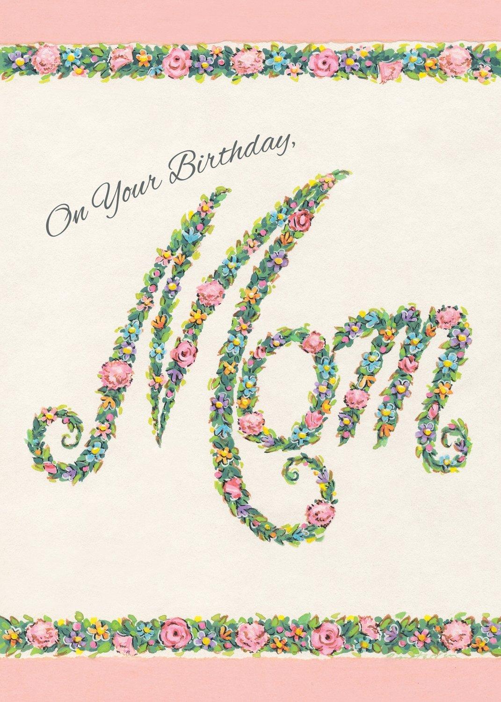 FR0302   Family Birthday Card / Mother
