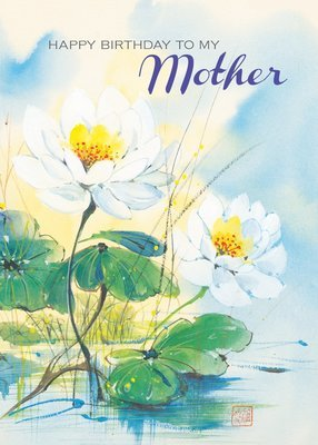 FR0303   Family Birthday Card / Mother
