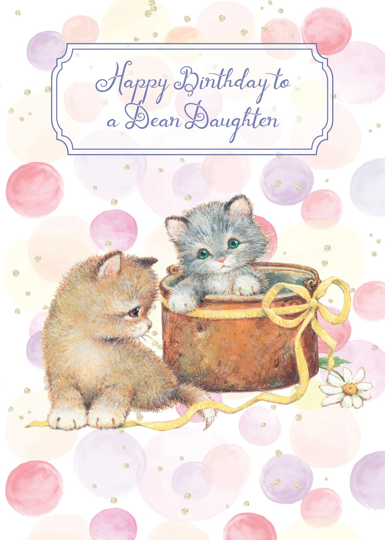 FR0307   Family Birthday Card / Daughter