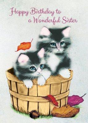 FR0311   Family Birthday Card / Sister