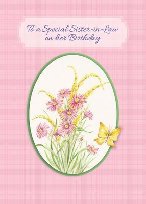 FR0312   Family Birthday Card / Sister-In-Law