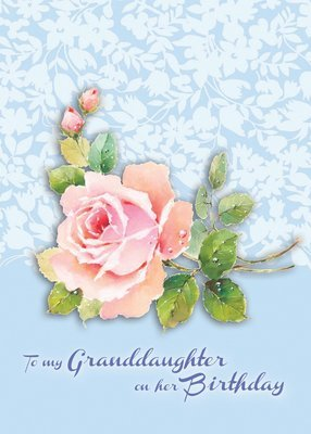 FR0316   Family Birthday Card / Granddaughter